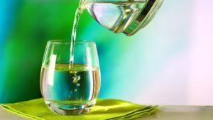 Lieblings-Wasserglas grün